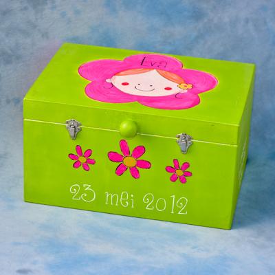herinneringenkist herinneringenbox geboorte Eva