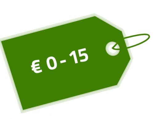 Prijs € 0-15